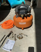 RIDGID OF60150HB 6 Gal. Portable Electric Pancake Air Compressor