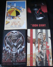Mondo Postcard Lot 2013 Sdcc Mint Jaws Looper Shaun Of The Dead Army Of Darkness