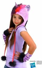 My Little Pony Twilight Sparkle Laplander Beanie Hoodie Hat with Ears NEW UNWORN