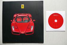 Cartella STAMPA FERRARI ENZO-Paris 2002 pressione 1854/02, 26 pagine + CD
