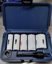 9 pc Kit #1 Hole Saw Kit Bi-Metal & Plastic Case