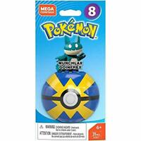 Mega Construx Pokemon Series 8 MUNCHLAX GOINFREX NEW Build Create Learn Toy Edu