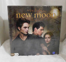 The Twilight Saga New Moon The Movie Board Game - Factory Sealed - New In Box!
