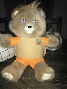 """17"""" Teddy Ruxpin (2017) Animated Talking Bear Bluetooth LCD Eyes-Tested/Works"""