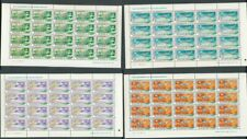Africa South Sudan Aviation Airways Blocks MNH (80 Stamps) (Suair)