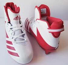 new product 25dd3 5b642 Adidas Mens Freak X Carbon High Football Cleats Shoes BW1418 sz 11.5  WhiteRed