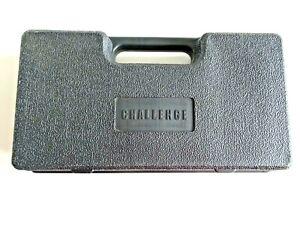 Challenge Power Tool Drill Hard Plastic Case Storage Box Container Holder Black