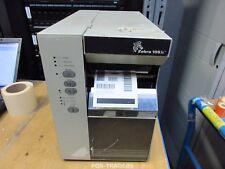 Zebra 105SE Direct Thermal Transfer SERIAL Label Printer DT/TT Drucker TESTED
