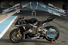 WINTER TEST GRAPHICS - TO FIT YAMAHA R1 OR SIMILAR - RACE TRACK STICKERS