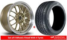 "Alloy Wheels & Tyres 18"" Rota MXR For Mazda 3 [Mk3] 13-16"