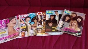 5 riviste 2 tutto anni 80,  tu 2002, di più 2004, chi 2003, Videocorriere 1982