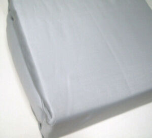 1250 Thread Count Silver Gray Wrinkle Resistant Cotton Blend Queen Sheet Set New