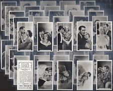 SINCLAIR (J)-FULL SET- FILM STARS (55-108 (F54 CARDS)) - EXC
