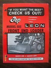 Vintage Original Leon's Co. Yorkton Saskatchewan Canada Model 505 Loader Flyer