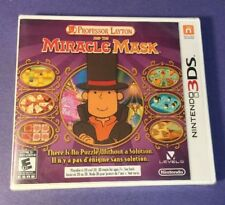 Professor Layton [ The Miracle Mask ] (3DS) NEW