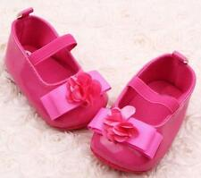 Toddler Baby Girls Flowers Bow Soft Sole Baby Shoes Toddler Shoes HOT/11