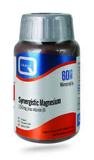 Quest Synergistic Magnesium - Vitamin B6 - 60 x 150mg Tablets