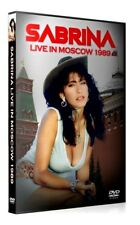 SABRINA SALERNO - Live In Moscow 1989 - Rare DVD