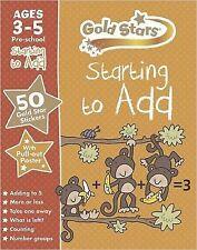 A partire da aggiungere Preschool cartelle di lavoro età 3-5 (stelle d'oro) NUOVO LIBRO