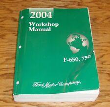 Original 2004 Ford F-650 F-750 Truck Shop Service Manual 04