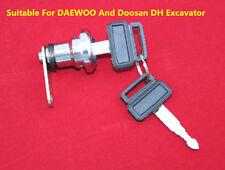 Excavator Accessories Cab Door Lock Cylinder For DAEWOO And Doosan DH Excavator