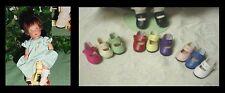 DOLL Shoes, 24mm RED Splendid AS fit Kish Ellery, Tiny Betsy AGA Fairy