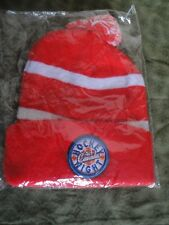 HOCKEY NIGHT IN CANADA / BUDWEISER RED & WHITE TOQUE NEW