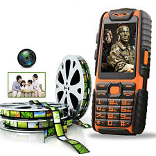 Rugged Tough GSM Long Battery Mobile Phone Unlocked Dual Sim Builder MP3 Camera
