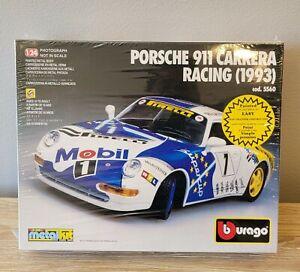 Burago Porsche 911 Carrera Racing 1993 5560 Die-cast 1/24 Kit New 1995 993