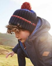 Joules Boys Bobble Hat - French Navy - 3Yr-7Yr