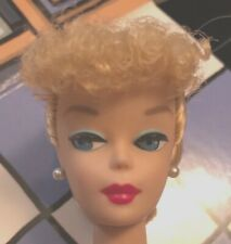 Registered Nurse Nude Barbie Poodle Bangs Blonde Ponytail Straight Legs Mint New