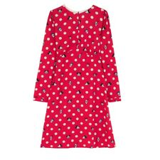 BNWT CATH KIDSTON DISNEY MICKEY MINNIE MOUSE BUTTON SPOT RED DRESS UK 16 RETRO