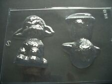 2 on 1 CUTE SPRING LAMB CHOCOLATE MOULD/MOULDS/3-D/SHEEP/UNUSUAL EASTER GIFT