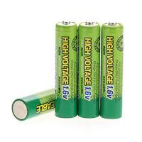4 pcs AAA 900mWh 1.6V 3A NiZn Rechargeable Battery PowerGenix