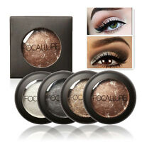 FOCALLURE 10 Farben Baked Metallic Lidschatten Palette NEUTRAL Kosmetik M Dekor