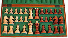 Schach Edles Schachspiel aus Holz 54 x 54 cm Handarbeit