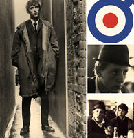 Quadrophenia Jimmy The Who Canvas Album Wall Art Poster Print Scooter Mods
