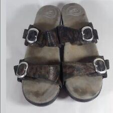 Dansko Sophie sandals 2 strap snake 41 10.5 11