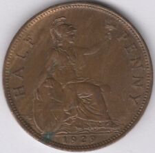 More details for 1929 george v halfpenny   british coins   pennies2pounds