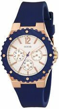 GUESS Rubber Ladies Blue Watch W0149L5