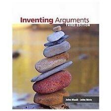 Inventing Arguments, Mauk, John, Metz, John,  very Good Condition, Book