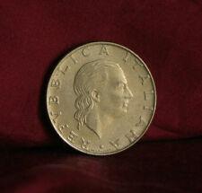 200 Lire 1985 R Italy World Coin Nice Details KM105 Italiana