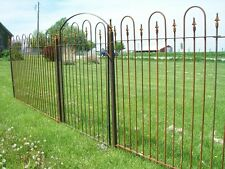 Our 5' Solid Steel Fence is Used For Lawn Enclosures & Swimming Pool Surrounds