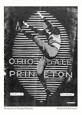 (19022) Postcard - Princeton Football - Buckeyes At Plamer Stadium - Modern card