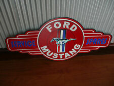 Ford Mustang Metal Tin Sign bar garage petrol oil car Service Spares