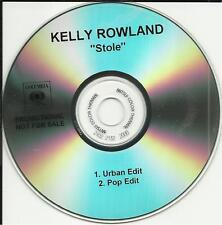 Destiny's Child KELLY ROWLAND Stole URBAN & POP EDIT DJ PROMO CD Single Destinys