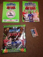 Match Attax 2010/11 binder inserts, premiership limited edition card included