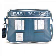 OFFICIAL DR WHO THE TARDIS SHOULDER MESSENGER SPORT SCHOOL BAG BNWT