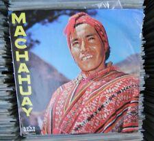 MACHAHUAY SELF TITLED PERUVIAN LP FOLK PERUANO