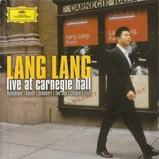 Lang Lang Live At Carnegie Hall Schuhmann Haydn, Chopin) 2003 DGG Doppel CD